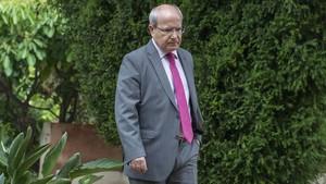 José Montilla, expresidente de la Generalitat, en una imagen reciente.