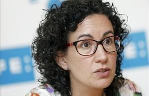 La portavoz de Junts pel Sí,Marta Rovira.
