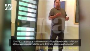 Publicat un vídeo de Junqueras, Forn i Romeva a la presó d'Estremera