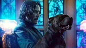 Keanu Reeves, en una imagen promocional de 'John Wick: Capítulo 3 - Parabellum'