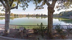 Imagen de El Lago de la Casa de Campo en Madrid.