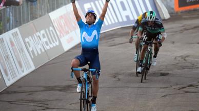 Mikel Landa demuestra en la Tirreno-Adriático que es un hombre libre