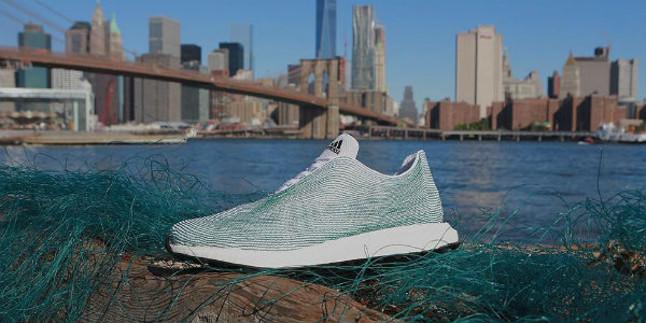 Adidas zapatillas hechas con basura