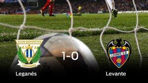 El Leganés se queda con los tres puntos frente al Levante