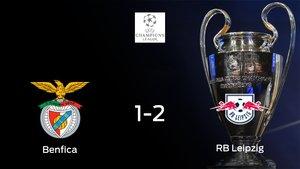 El RB Leipzig se lleva los tres puntos frente al Benfica (1-2)