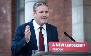 El líder laborista británico, Keir Starmer.