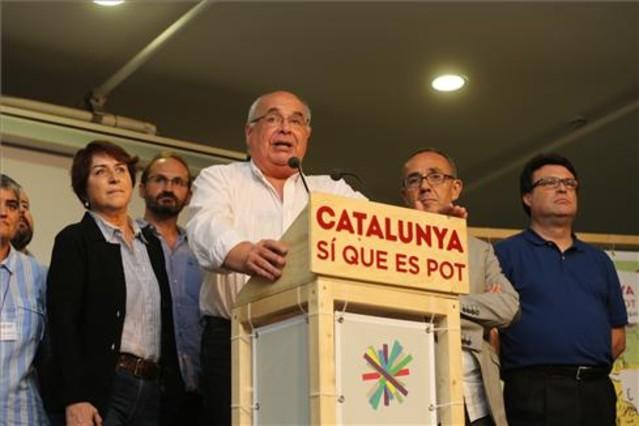 Lluís Rabell valora los resultados electorales de Catalunya Sí que es Pot