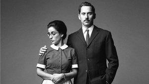 Inma Cuesta y Paco León, caracterizados para la serie 'Arde Madrid'.