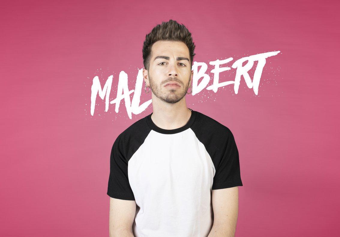 Malbert, alias 'La Potra', se define como intenso y porculero.