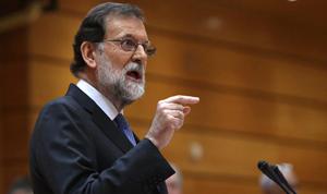 Mariano Rajoy envia un missatge als espanyols després de l'aprovació de les mesures de l'article155