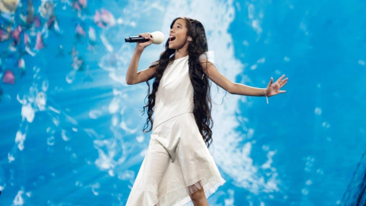 Melani actuará en quinta posición en Eurovisión Junior 2019.