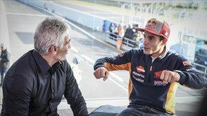 Mick Doohan y Marc Márquez han conversado hoy, ante las cámaras de MotoGP.com, en el circuito de Phillip Island.