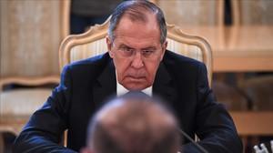 El ministro ruso de Exteriores, Serguei Lavrov.