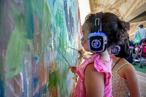 La música y el arte se unen en el Primavera Sound para hablar de los niños que viven en países en guerra
