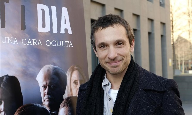 El actor Pablo Derqui, uno de los protagonistas de la serie de TV-3 Nit i dia.