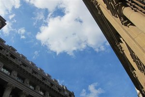 Cielo con nubes.