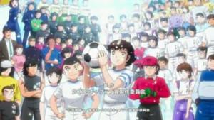 Captura de pantalla de la canción de inicio de la nueva temporada.