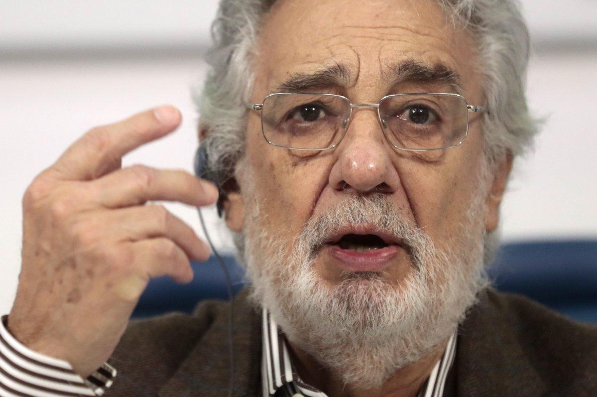 Plácido Domingo cancel·la les seves representacions al Teatro Real