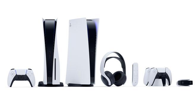 Així és la PS5: una PlayStation vertical, blanca i negra i amb comandament DualSense
