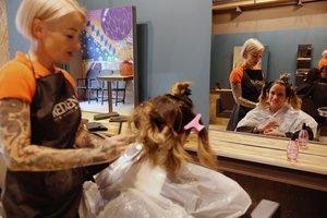Pódame: la peluquería de las cabezas vibrantes