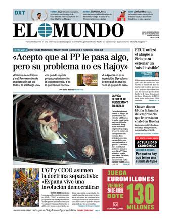"""El """"viejo rockero"""" Montoro afea a Cifuentes su 'titulitis'"""