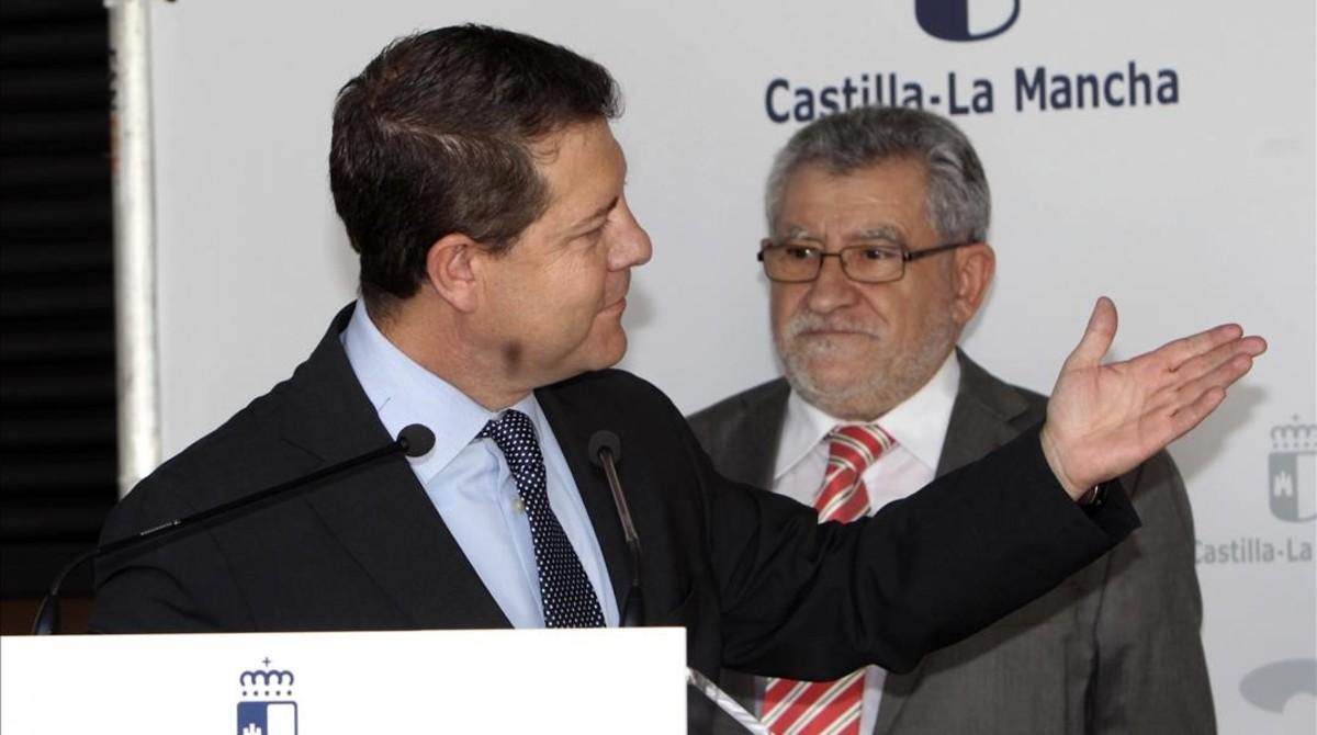 El presidente castellano-manchego, Emiliano García-Page, el pasado 7 de septiembre en Ciudad Real.