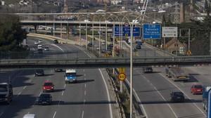 El puente de Sarajevo, sobre la Meridiana.