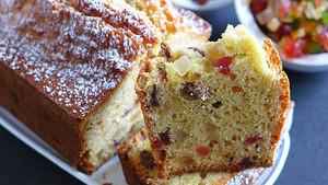 Receta de plum cake.