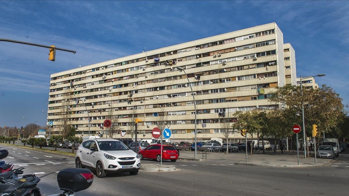 Imagen de archivo del barrio de La Mina.