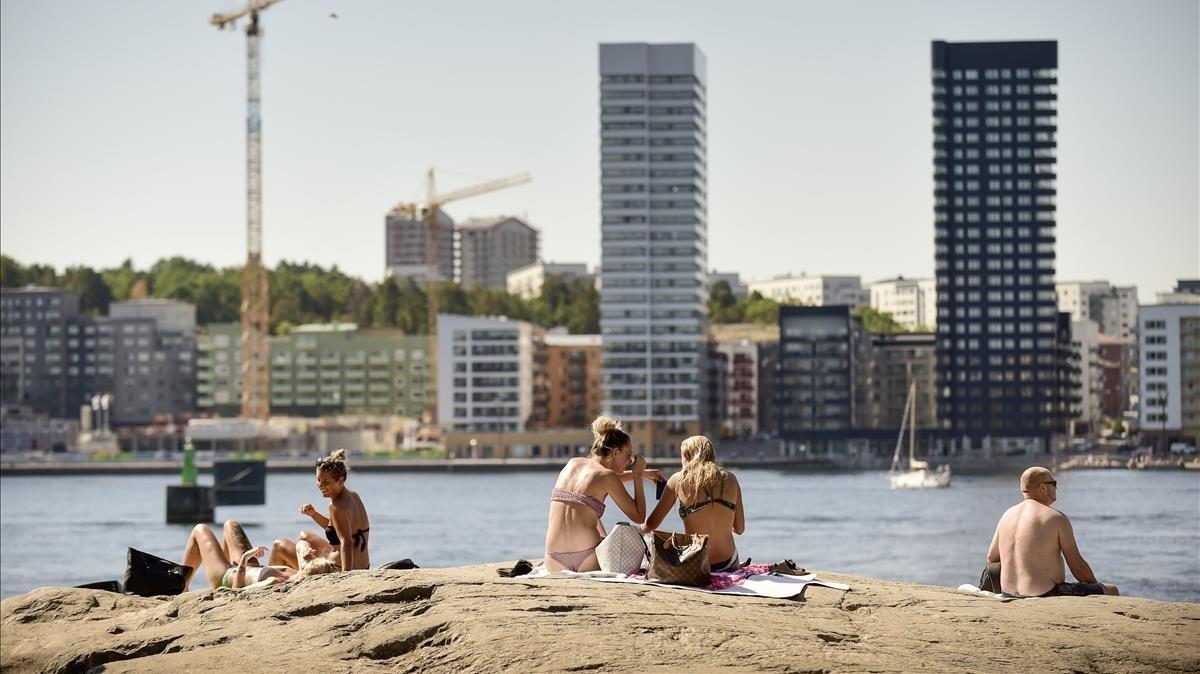 Una onada de calor causa estralls a Rússia, els països bàltics i Escandinàvia