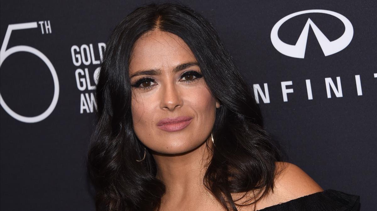 La actriz mexicana Salma Hayek.