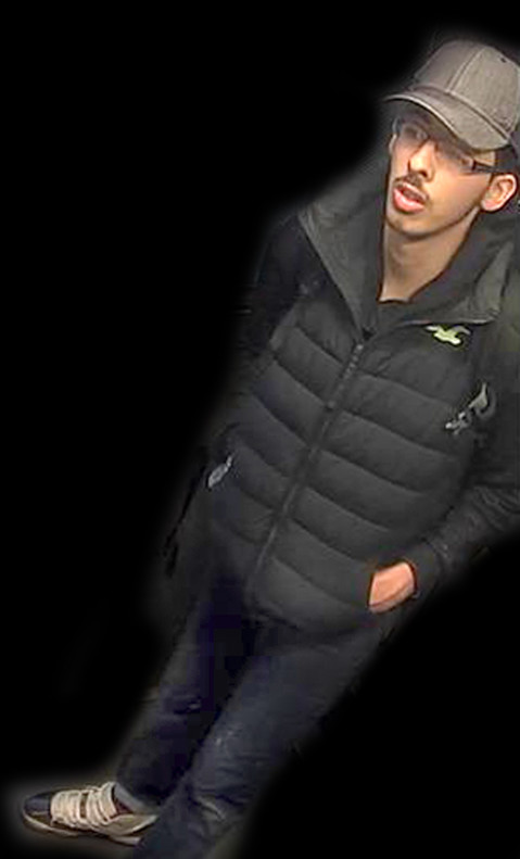 Salman Abedi, el día del atentado, el 27 de mayo, en Manchester.