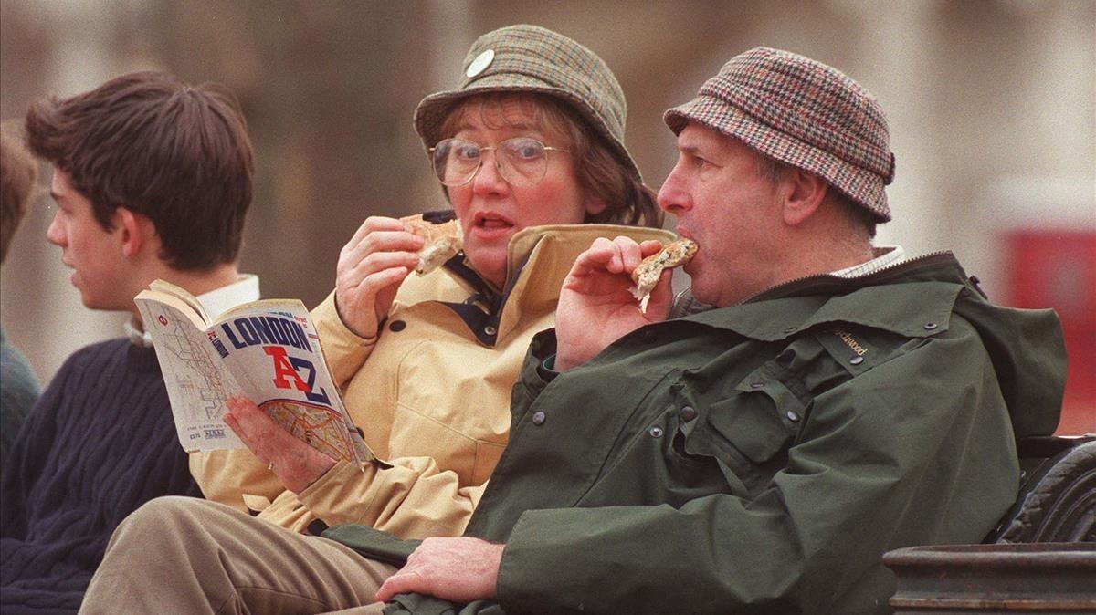 Los sándwiches son muy populares entre los británicos, no solo para comer al mediodía sino también, y cada vez más, para el desayuno.