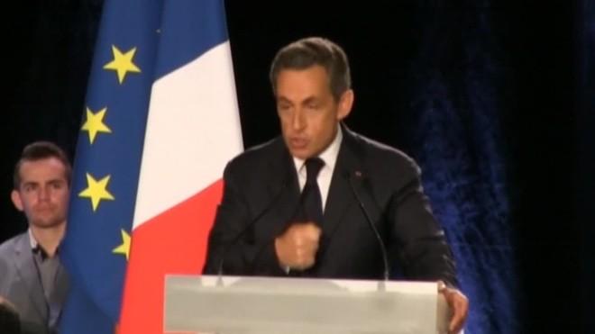 Sarkozy declara sota arrest, per la investigació judicial oberta per un possible finançament il·legal de la campanya deles eleccions del 2007.