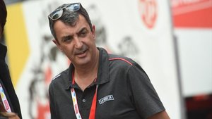Javier Guillén, en una imagen de la Vuelta 2019.