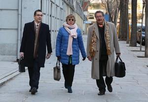 La Senadora del PP Pilar Barreiro llega al Tribunal Supremo dondedeclara el casoPúnica.