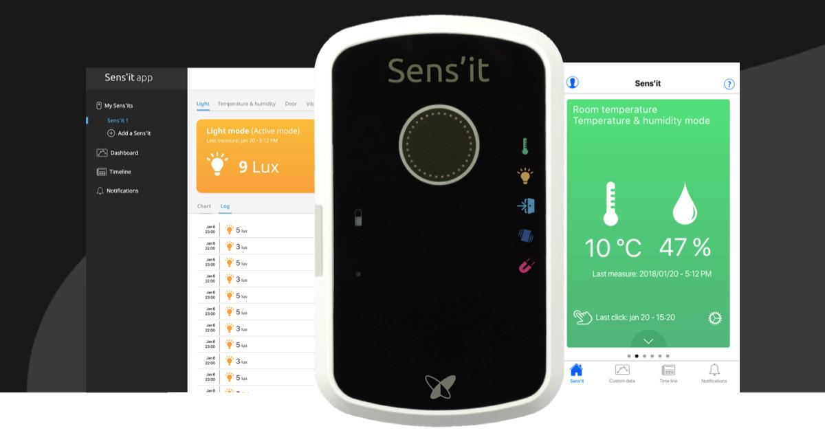 Dispositivo de Sigfox que potencia el Internet de las Cosas