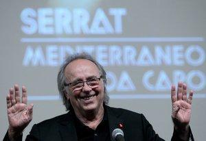 Joan Manuel Serratdurante una rueda de prensa en el Palacio de Bellas Artesen Ciudad de Mexico.EFE Mario Guzman