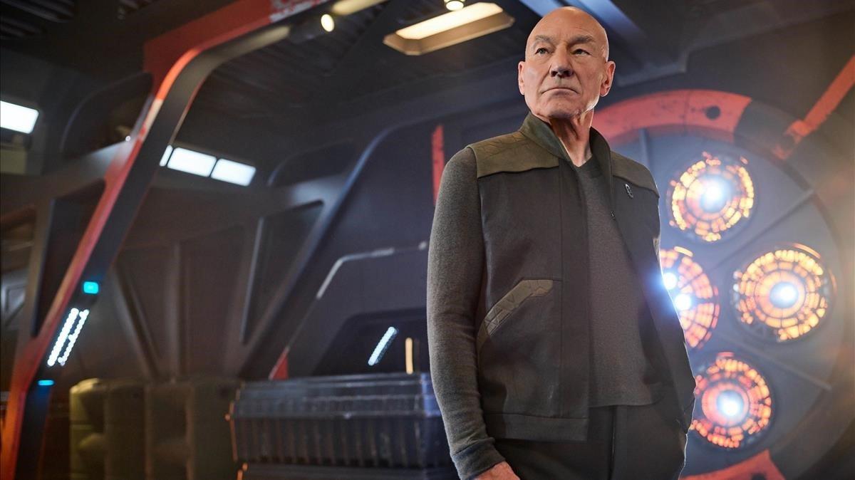 Sir Patrick Stewart como Jean-Luc Picard en 'Star Trek: Picard'