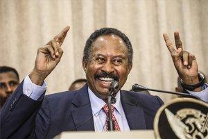 El primer ministro de Sudán, Abdallá Hamdok.
