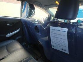 Els taxis de Free Now a BCN tindran mampares