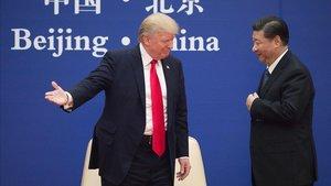 Trump y Xi en noviembre del 2017 en Pekín.