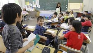 Una escuela del sur de Tokio.