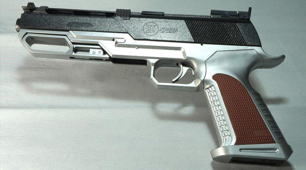 Una pistola de juguete en una imagen de archivo.