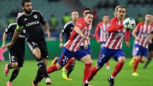 L'Atlètic es dessagna a Bakú (0-0)