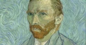 Autorretrato de Van Gogh (1889), artista protagonista dela primera proyección.