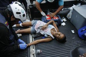 Un total de 46 heridos fueron atendidos en el municipio caraqueño de Chacao.