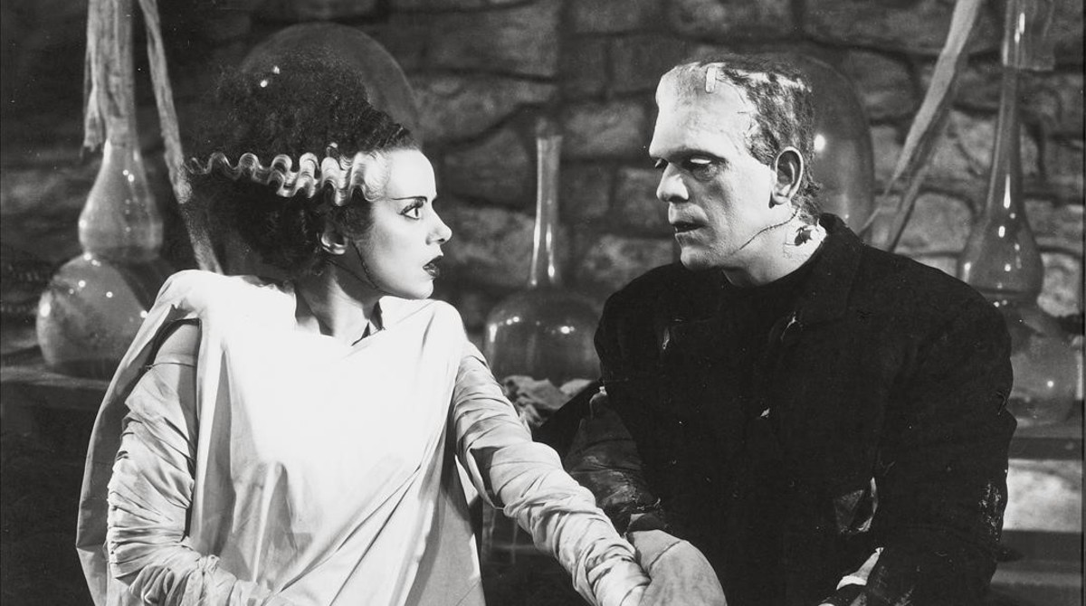 Fotograma de la película La novia de Frankestein.