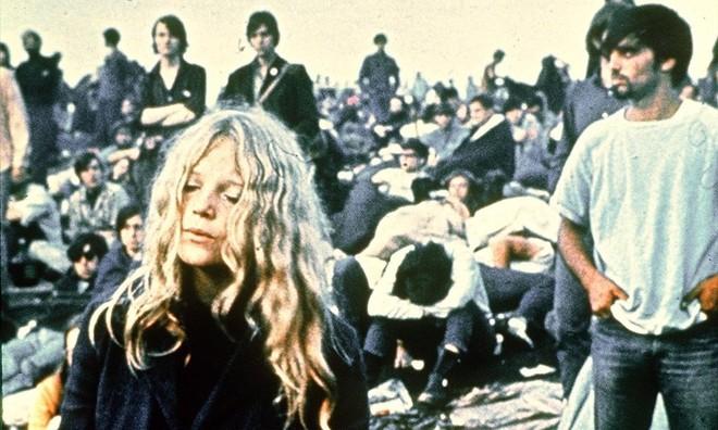 Una imagen del festival de Woodstock, en 1969.