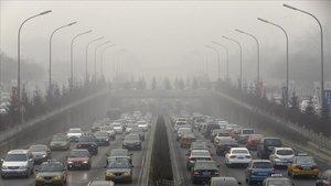 La contaminació fa malbé els pulmons com un paquet de cigarrets al dia